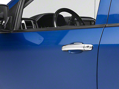 Putco Chrome Door Handle Covers (14-18 Silverado 1500)
