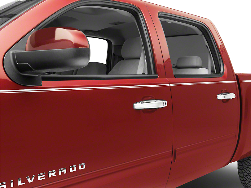 Putco Chrome Door Handle Covers w/o Passenger Keyhole (07-13 Silverado 1500)