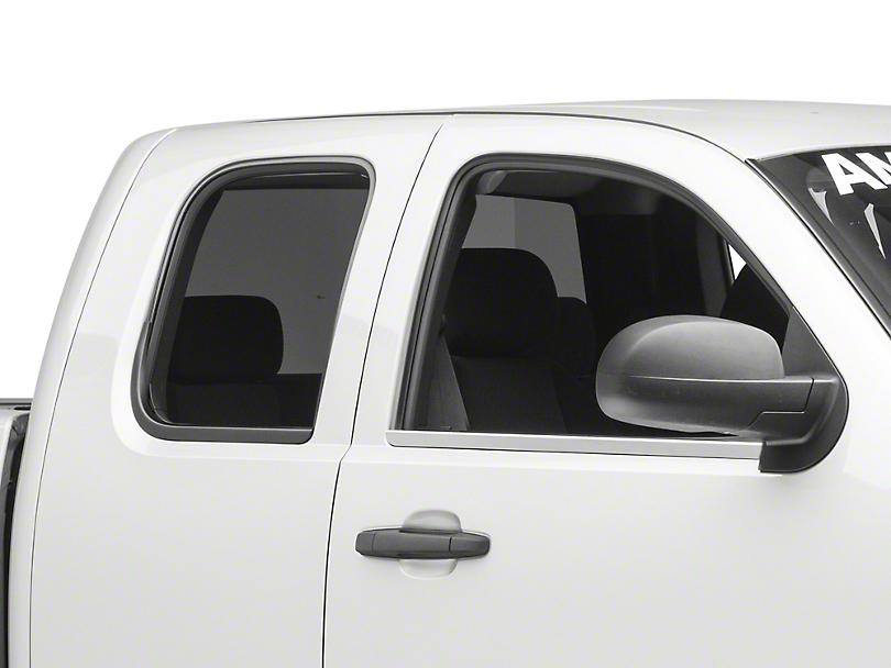 Putco Window Trim - Chrome (07-13 Silverado 1500 Extended Cab, Crew Cab)