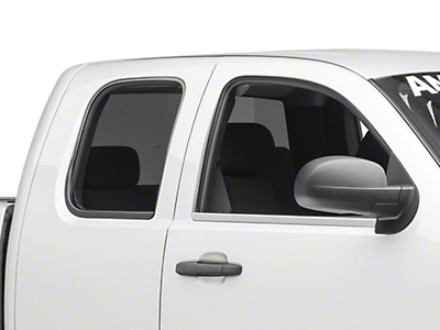 Putco Window Trim - Chrome (07-13 Silverado 1500 Extended Cab, Crew Cab)