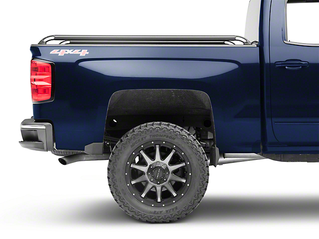 Locker Side Bed Rails - Black (14-18 Silverado 1500)