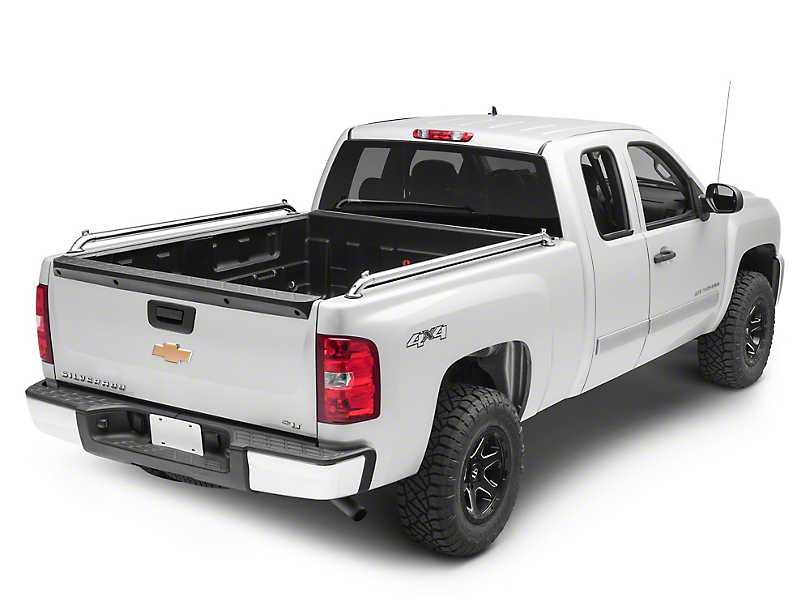 Putco Pop Up Locker Side Bed Rails (07-13 Silverado 1500)