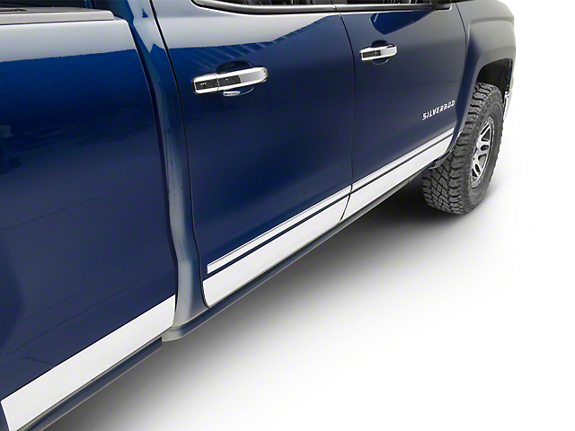 Putco Stainless Steel Rocker Panels (14-18 Silverado 1500)