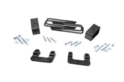 Rough Country 2.5 in. Leveling Lift Kit (07-18 2WD/4WD Silverado 1500 w/ Stock Stamped Steel Control Arms)