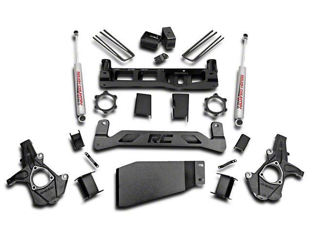 Rough Country 5 in. Suspension Lift Kit w/ Shocks (07-13 4WD Silverado 1500)