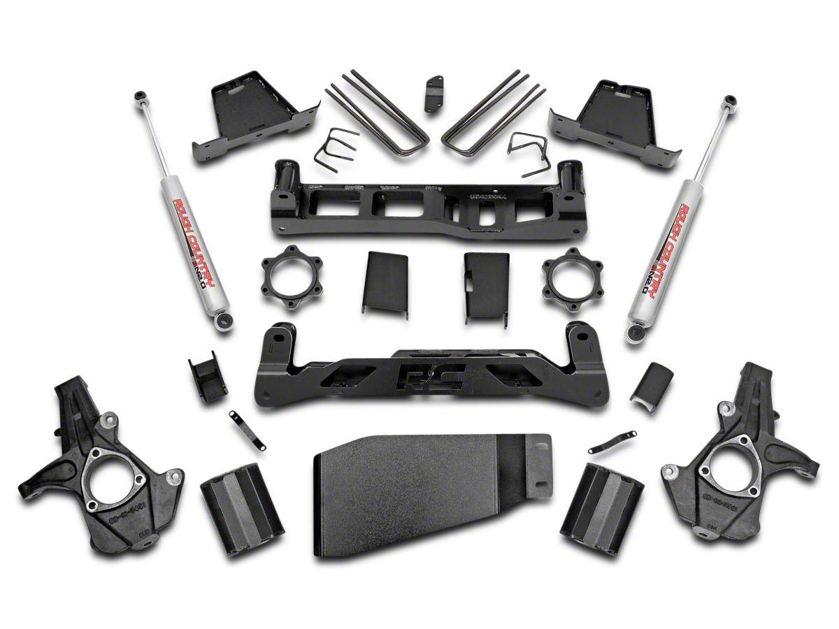 Rough Country 7 5 in  Suspension Lift Kit w/ Premium N3 Shocks (07-13 4WD  Silverado 1500)