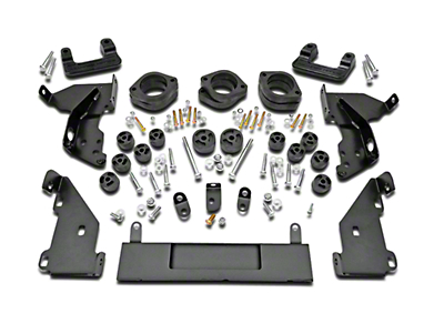 Rough Country 3.25 in. Suspension & Body Lift Kit (14-18 2WD/4WD Silverado 1500 w/ Stock Cast Steel or Aluminum Control Arms)