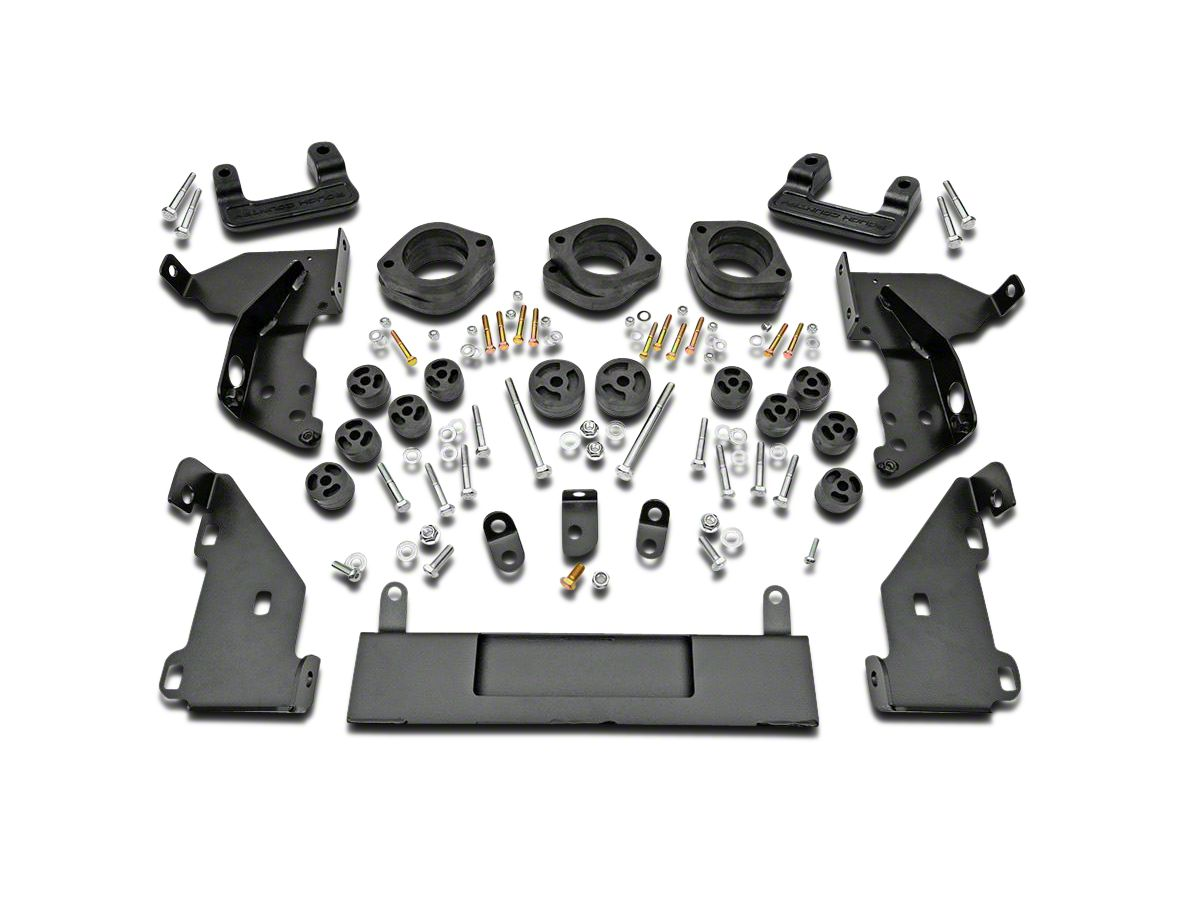 Rough Country 3 25 in  Suspension & Body Lift Kit (14-18 2WD/4WD Silverado  1500 w/ Stock Cast Steel or Aluminum Control Arms)
