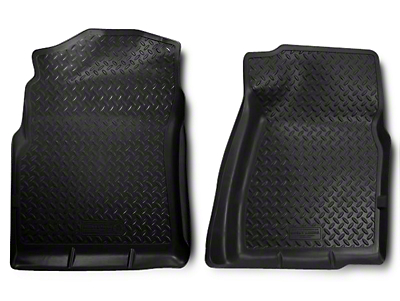 Husky Classic Front Floor Liners - Black (07-13 Extended Cab, Crew Cab)