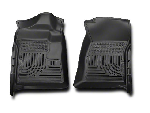 Husky WeatherBeater Front Floor Liners - Black (07-13 Silverado 1500)