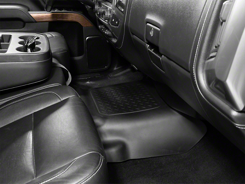 Husky WeatherBeater Center Hump Floor Liner - Black (14-18 Silverado 1500)