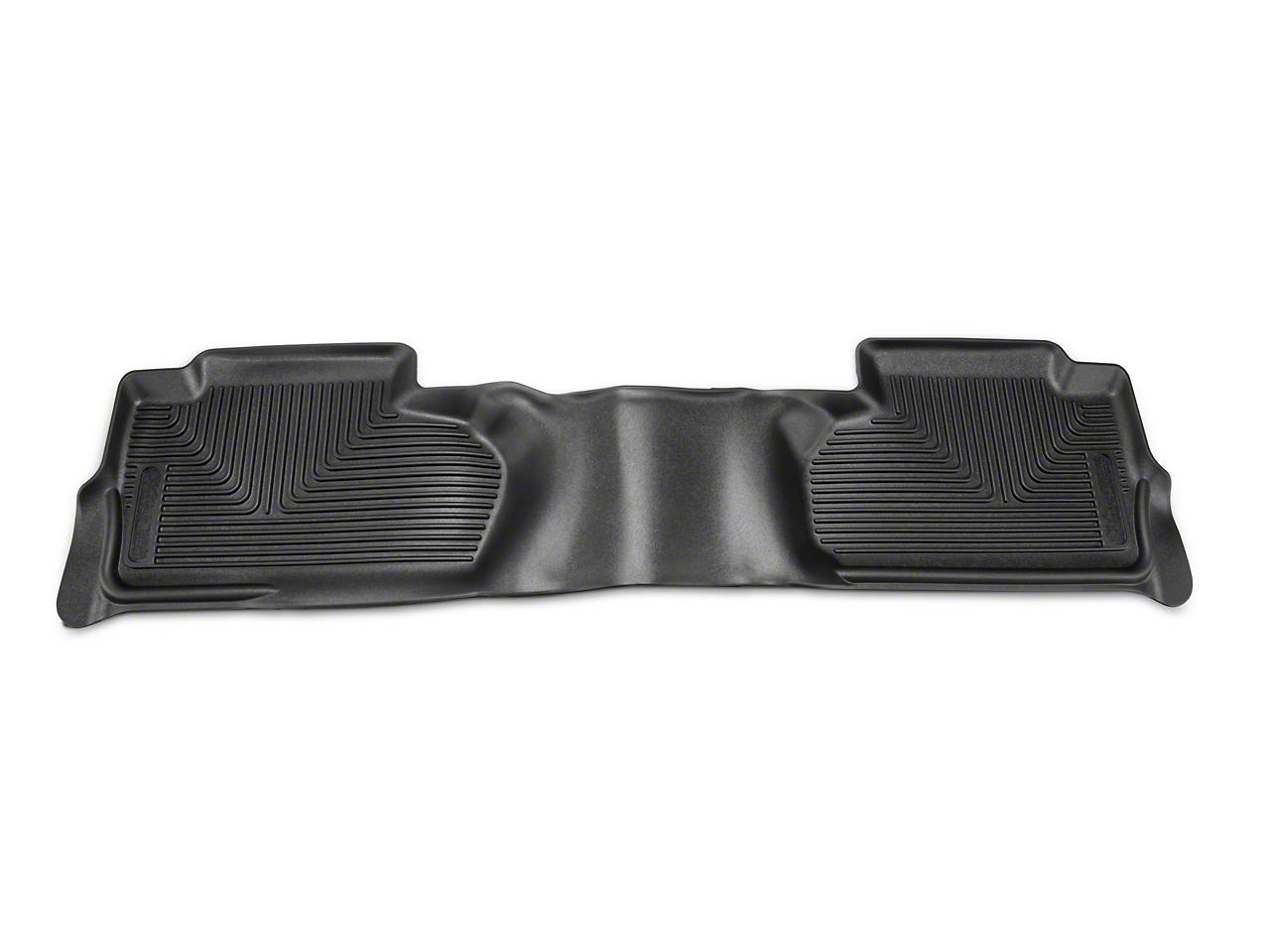 Husky X-Act Contour 2nd Seat Floor Liner - Black (14-18 Silverado 1500 Double Cab, Crew Cab)