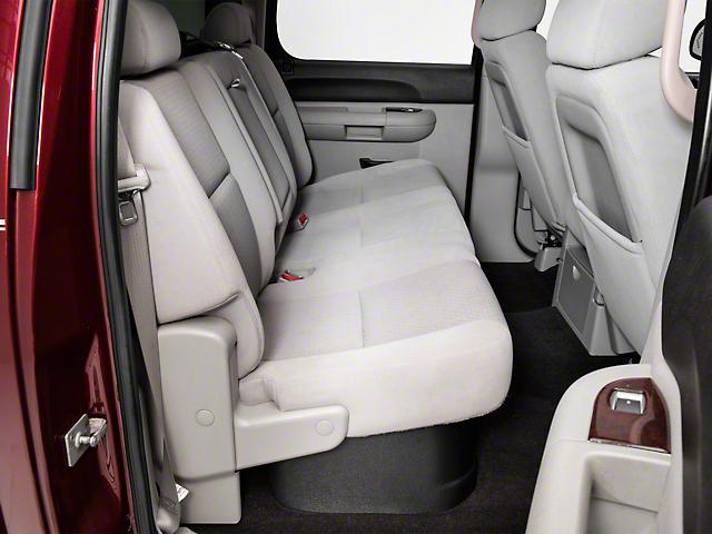 Husky GearBox Under Seat Storage Box (07-13 Silverado 1500 Extended Cab, Crew Cab)