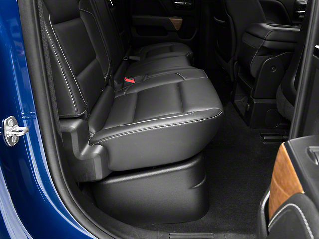 GearBox Under Seat Storage Box; Black (14-18 Silverado 1500 Double Cab)