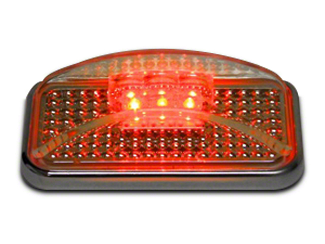 Putco Red LED w/ Ion Chrome Lens Side Marker