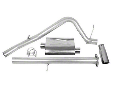 CGS Motorsports Stainless Single Exhaust System - Side Exit (07-08 4.8L Silverado 1500)