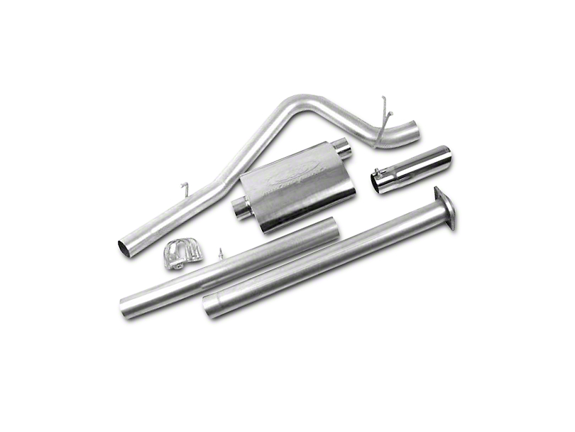 CGS Motorsports Stainless Single Exhaust System - Side Exit (07-08 6.0L Silverado 1500)