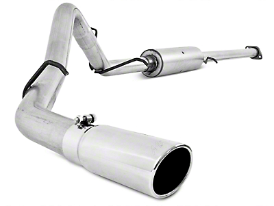 MBRP Installer Series 3 in. Cat-Back Exhaust - Single Side Exit (07-08 6.0L Extended Cab w/ Standard Box, Crew Cab)