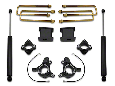 Max Trac 6 in. Front / 3 in. Rear Lift Kit w/ Shocks (07-16 2WD Silverado 1500 w/ Stock Cast Steel Control Arms)