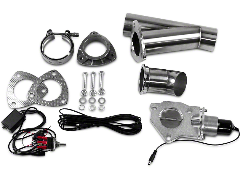 GMS Electronic Exhaust Cutout System - 2.5 in. (99-18 Silverado 1500)