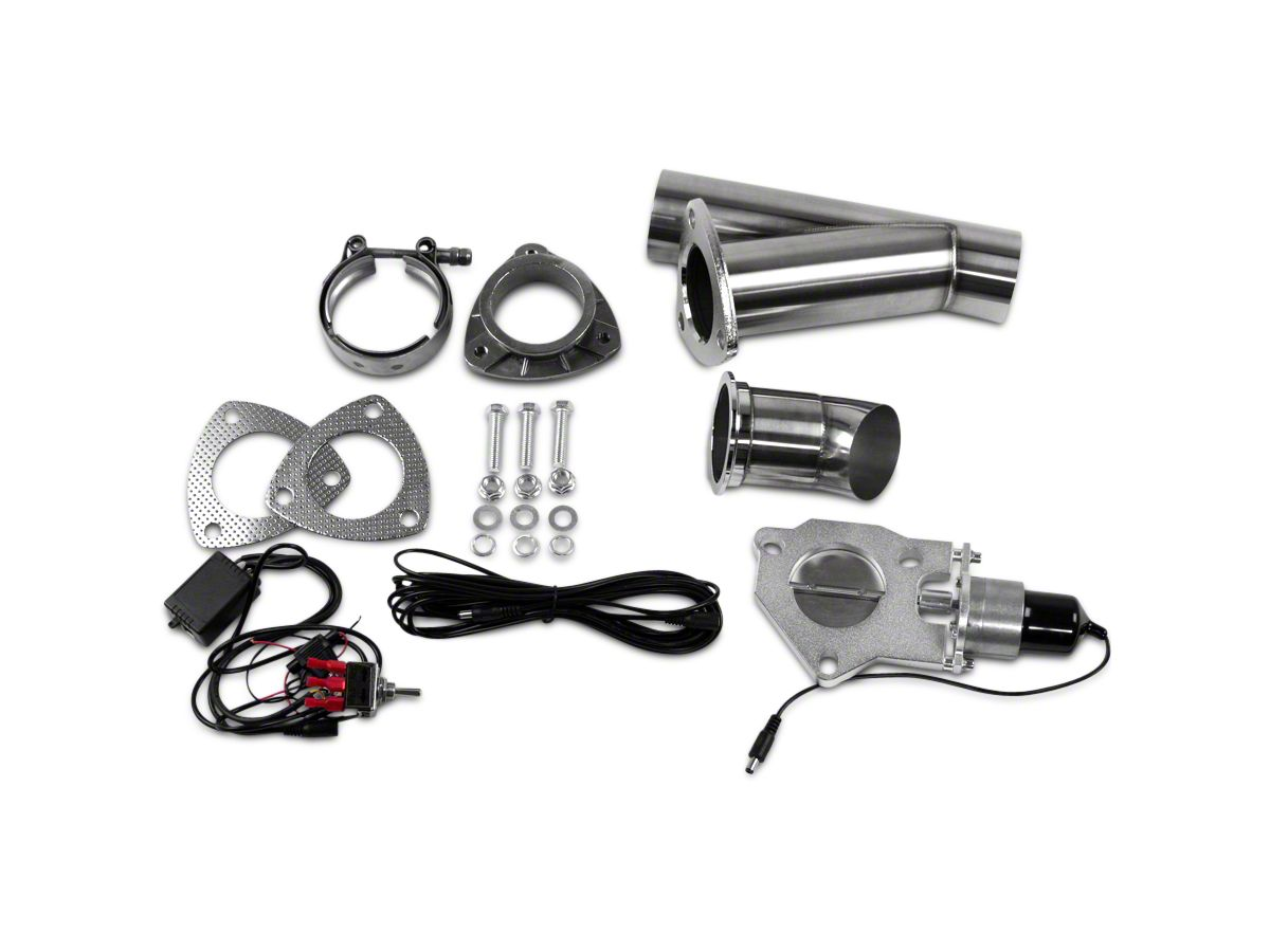 GMS Electronic Exhaust Cutout System - 2 5 in  (99-19 Silverado 1500)