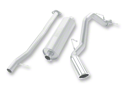 Borla Touring Single Exhaust System - Side Exit (07-13 5.3L Silverado 1500)