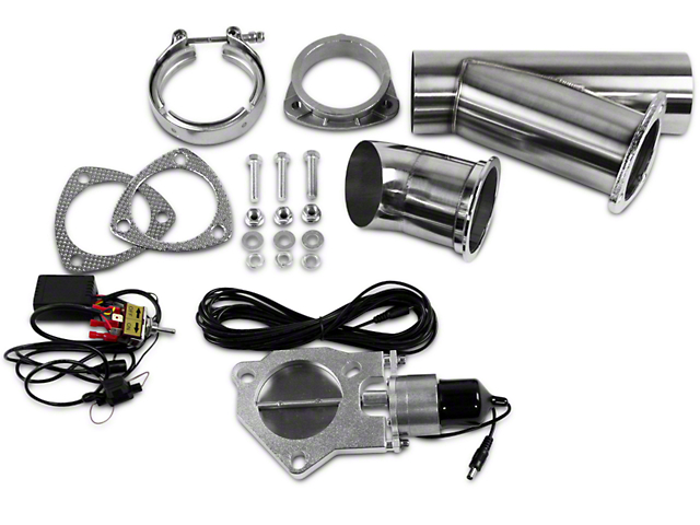 GMS Electronic Exhaust Cutout System - 3 in. (99-19 Silverado 1500)