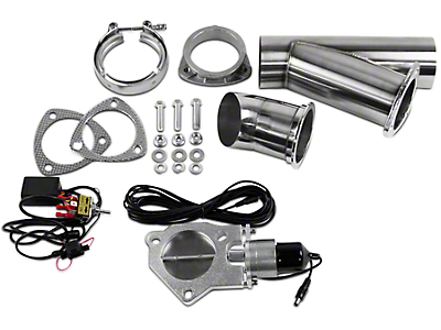 GMS Electronic Exhaust Cutout System - 4 in. (99-18 Silverado 1500)