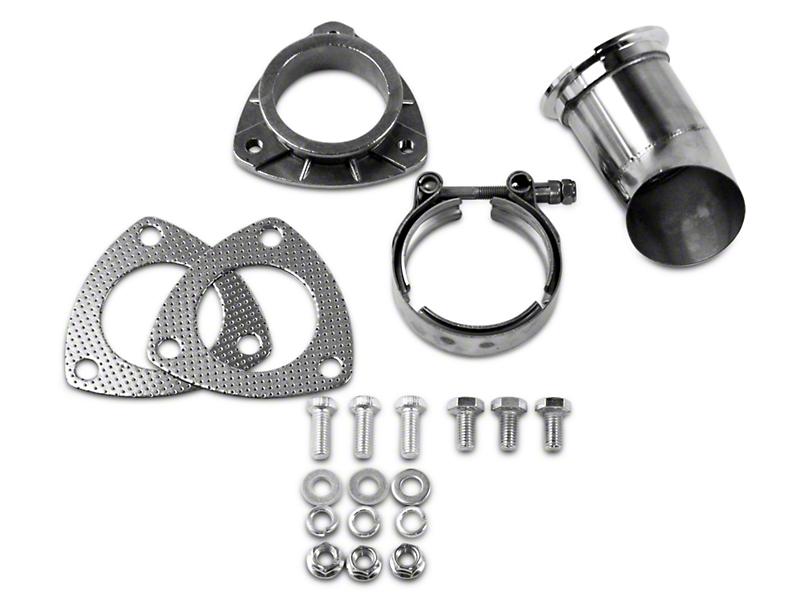 GMS Exhaust Cutout Adjustable Turn Down - 2.5 in. (99-18 Silverado 1500)
