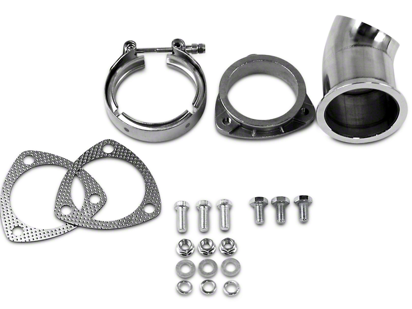 GMS Exhaust Cutout Adjustable Turn Down - 3 in. (99-18 Silverado 1500)