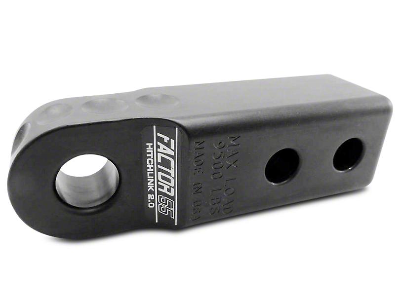 Factor 55 Aluminum HitchLink 2.0 - Black (99-18 Silverado 1500)