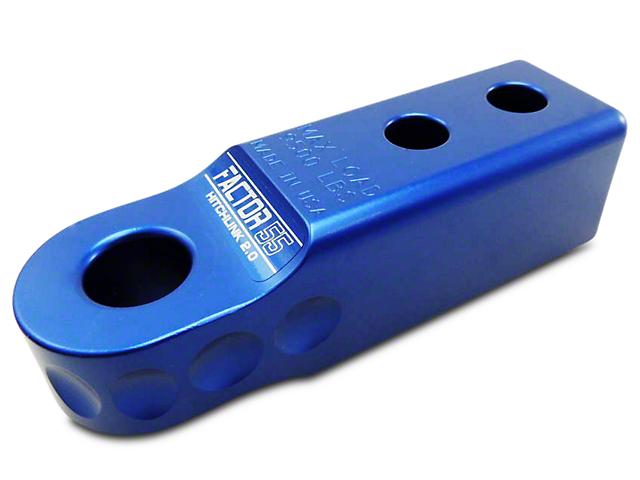 Factor 55 Aluminum HitchLink 2.0 - Blue (99-18 Silverado 1500)