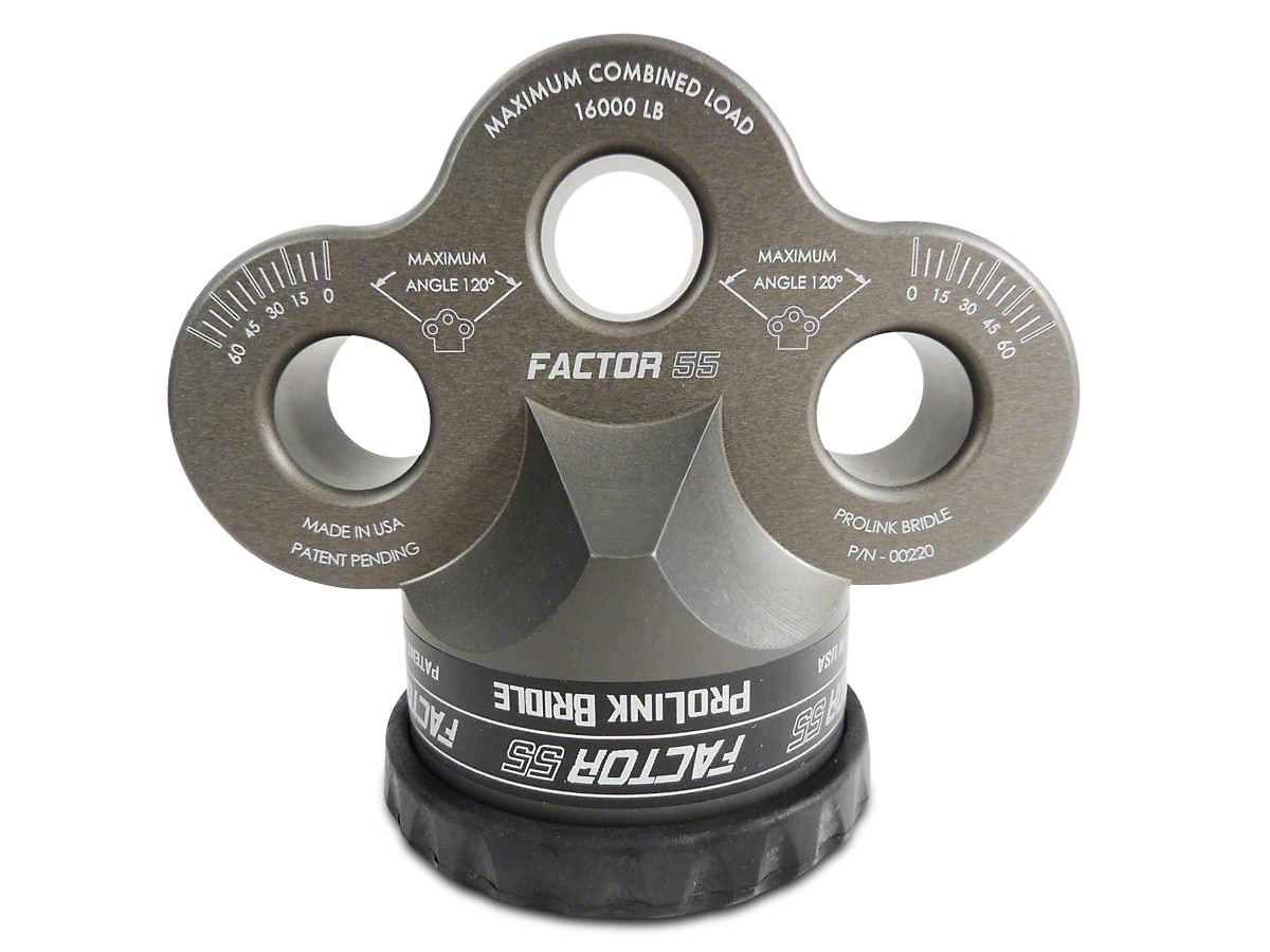 Factor 55 ProLink Bridle - Gray