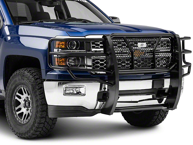 Steel Craft HD Grille Guard - Black (14-16 Silverado 1500)