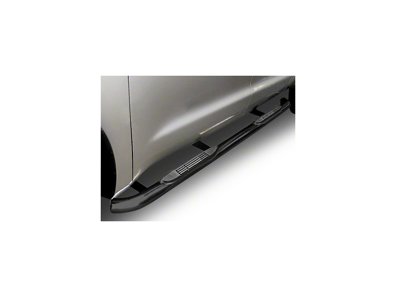 Steel Craft 3 in. Blackout Series Side Step Bars - Body Mount (99-18 Silverado 1500 Extended/Double Cab)