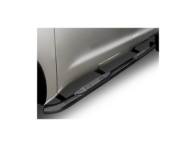 Steel Craft 3 in. Blackout Series Side Step Bars - Body Mount (99-13 Silverado 1500 Extended Cab)