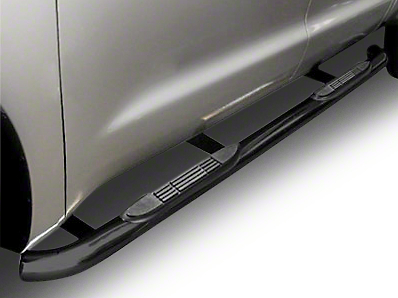 Steel Craft 4 in. Blackout Series Side Steps - Body Mount (07-13 Silverado 1500 Extended Cab)