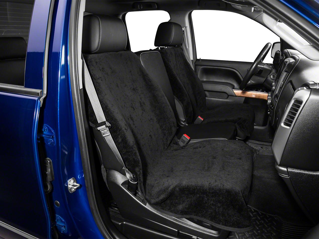 Seat Armour Seat Protector - Black (07-18 Silverado 1500)
