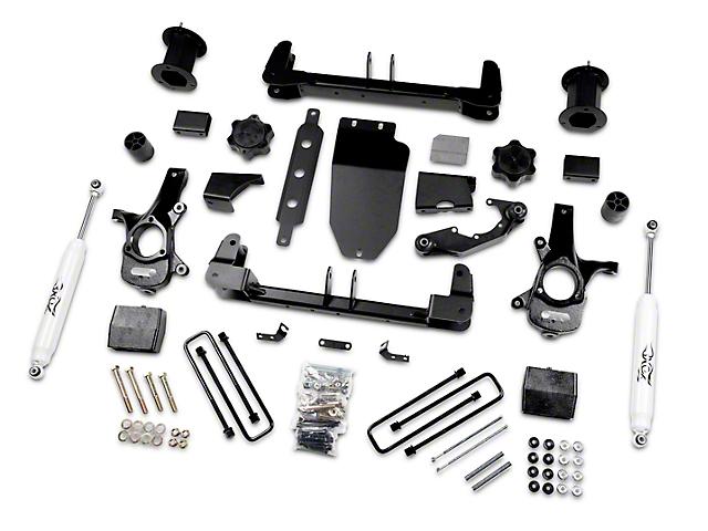 Zone Offroad 6.50-Inch Suspension Lift Kit with Shocks (14-18 4WD Silverado 1500)
