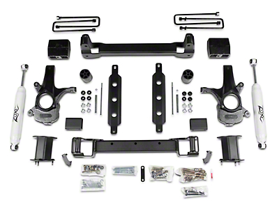 Zone Offroad 6.5 in. Suspension Lift Kit w/ Shocks (14-18 2WD Silverado 1500)