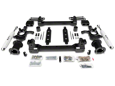Zone Offroad 4.5 in. Suspension Lift Kit w/ Shocks (14-18 2WD Silverado 1500)