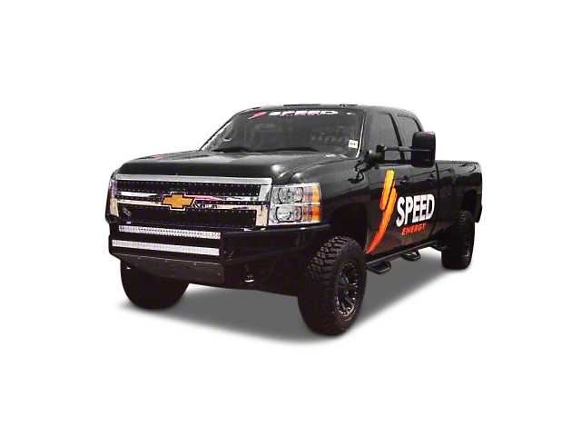 N-Fab Wire Mesh Upper Replacement Grilles - Textured Matte Black (14-15 Silverado 1500, Excluding Z71)