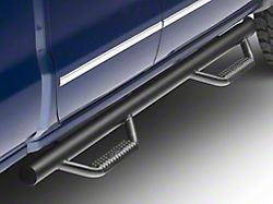 N-Fab Cab Length Nerf Side Step Bars; Textured Black (14-18 Silverado 1500 Double Cab)