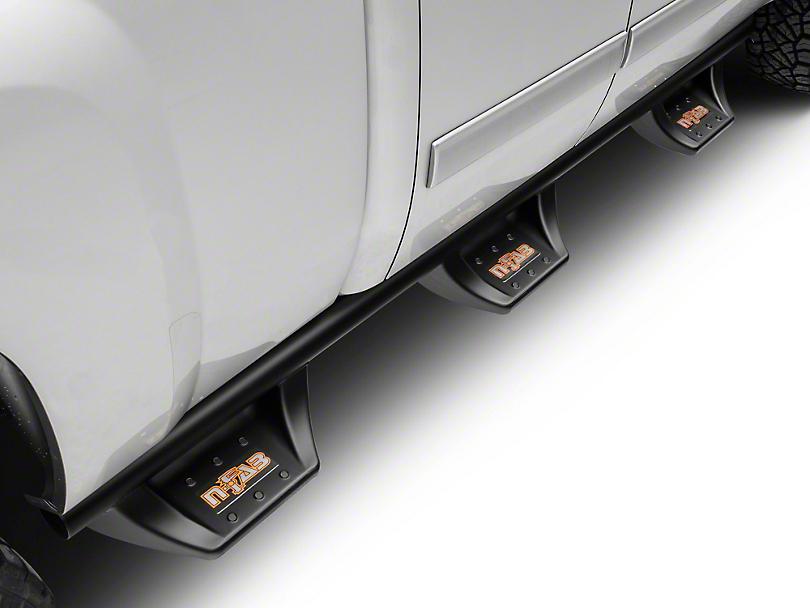 N-Fab Wheel 2 Wheel N-Durastep Bed Access Side Step Bars - Semi-Gloss Black (07-13 Silverado 1500 Extended Cab w/ Standard & Long Box, Crew Cab)