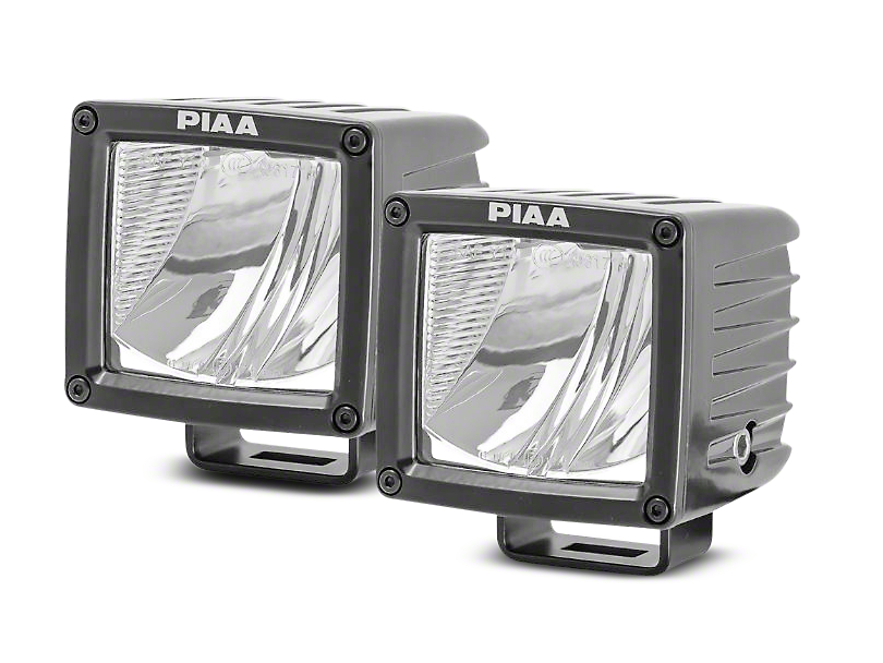PIAA RF Series 3 in. LED Light Cubes - Driving Beam - Pair