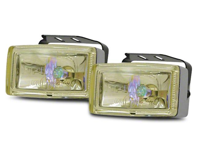 PIAA 2000 Series Ion Yellow Halogen Lights - Fog Beam - Pair