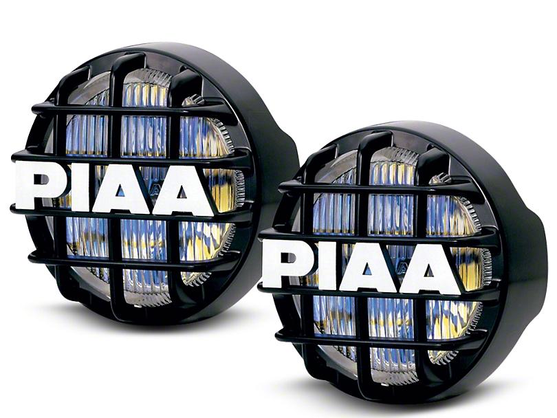 PIAA 510 Series 4 in. Round Ion Yellow Halogen Lights - Fog Beam - Pair