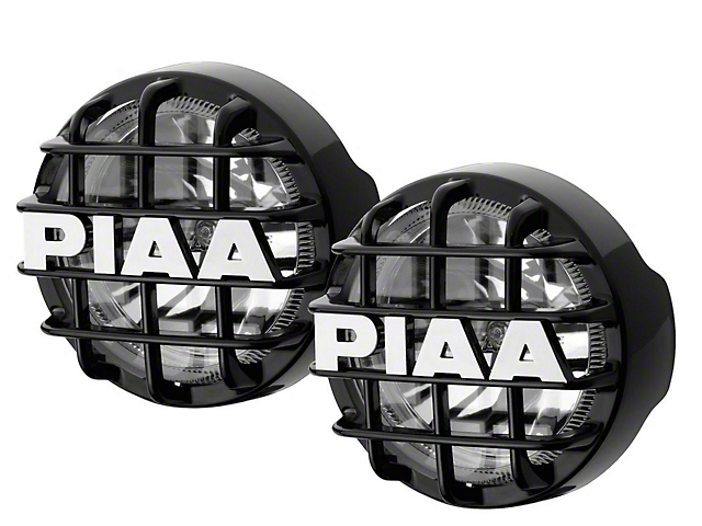 PIAA Series 4 in. Round Xtreme White SMR Lights - Fog Beam - Pair