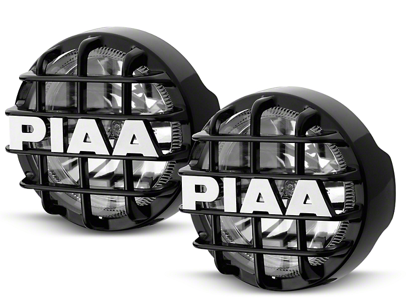 PIAA 510 Series 4 in. Round Xtreme White SMR Lights - Driving Beam - Pair