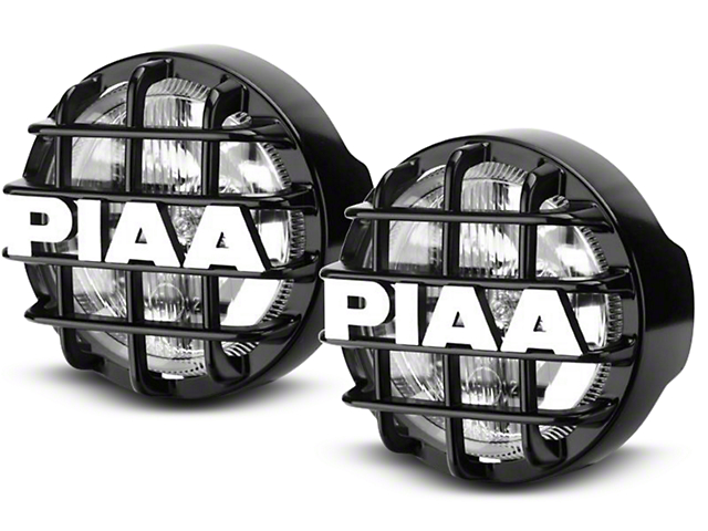 PIAA 510 Series 4 in. Round ATP Halogen Lights - Pair